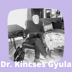 Kincses Gyula a Körúti Szalon vendége