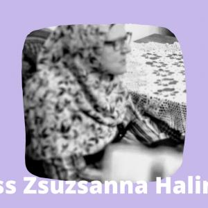 Kiss Zsuzsanna Halima a Körúti Szalon vendége