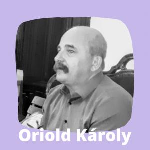 Oriold Károly a Körúti Szalon vendége