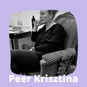 Peer Krisztina a Körúti Szalon vendége