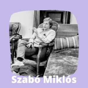 Szabó Miklós a Körúti Szalon vendége