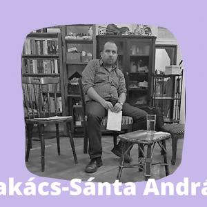 Takács-Sánta András a Körúti Szalon vendége