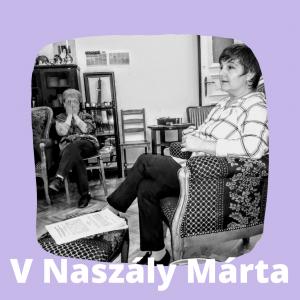 V Naszály Márta a Körúti Szalon vendége