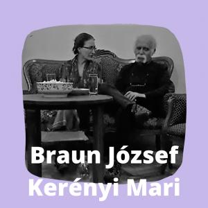 Braun József és Kerényi Mari a körúti Szalon vendégei