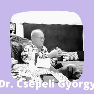 Csepeli György a Körúti Szalon vendége